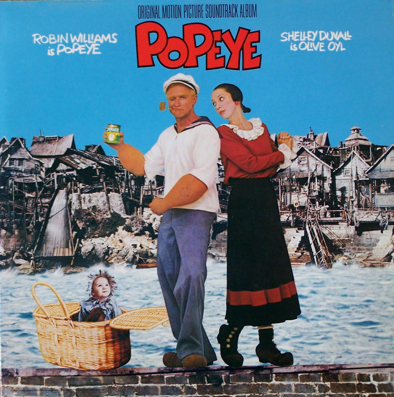 Η αφίσα της ταινίας Popeye.