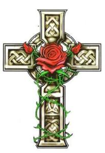 celtic cross tattoos design ideas