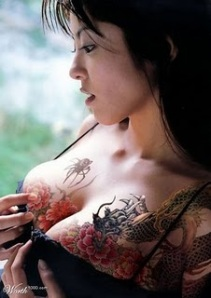 Dragon Tattoos On Breast