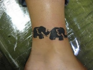 ankle tattoos design for girls