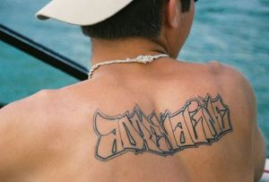 tattoos designs names on back